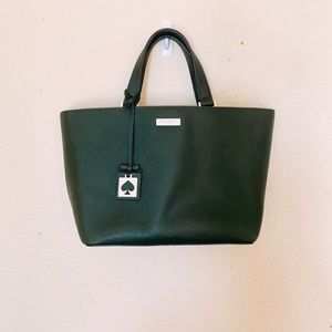 NWOT Kate Spade Dark Green Handbag